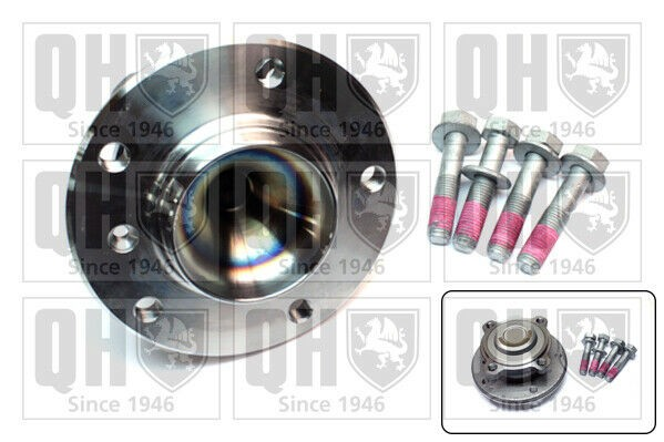Wheel Bearing Kit fits BMW 325 E92 3.0 Front 07 to 13 N53B30A QH 31216765157 New