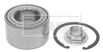Wheel Bearing Kit fits MAZDA 3 BLEFP 2.0 Front 09 to 12 LF-VDS B&B BBM233047 New