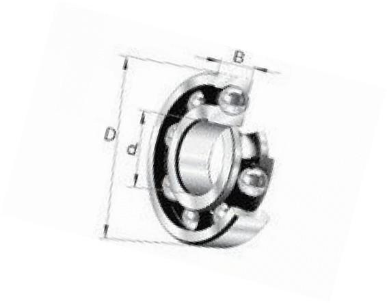 FAG 6016-2RSR-C3 Deep Groove Ball Bearing
