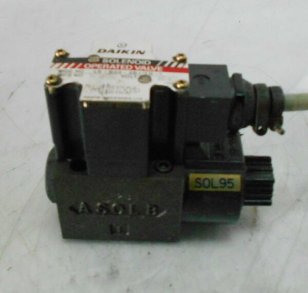 Daikin Solenoid Operated Valve, LS-G02-2BA-10-N, Used, WARRANTY