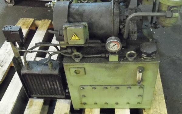 Showa 3 HP Hydraulic Unit, PVU-60-04-HX365, Nachi Pump VDR-1B-1A3-1146G, Used
