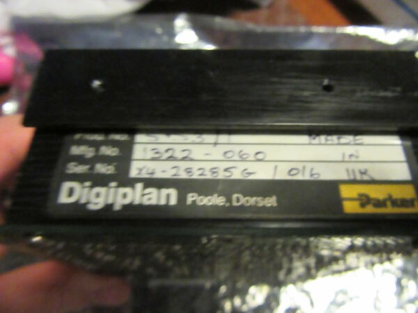 Parker Digiplan SD3/1 1322-060 Stepper Motor Power Supply module