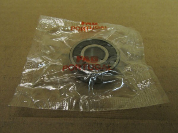 NIB FAG 6000 2RS BEARING DOUBLE RUBBER SHIELD 60002RS 6000RS 10x26x8 mm NEW