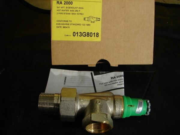 DANFOSS THERMOSTATIC RADIATOR VALVE 013G8018 3/4