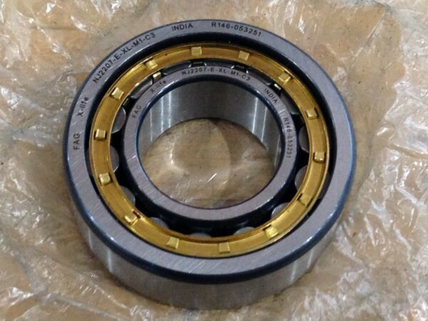 FAG X-LIFE NJ2207-E-XL-M1-C3 Cylindrical Roller Bearing 35mx72mx23m