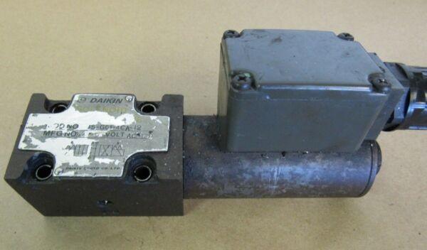 DAIKIN SOLENOID OPERATED VALVE JS-G01-4CA-12 100VAC