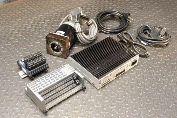 Parker ZETA83-93-MO Stepper Motor w/ Encoder, OEMZL4 Drive, EVM32II