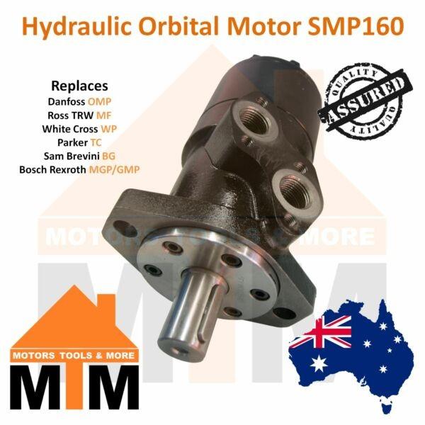 Orbital Hydraulic Motor SMP160 Replaces Danfoss OMP 160, Ross TRW MF