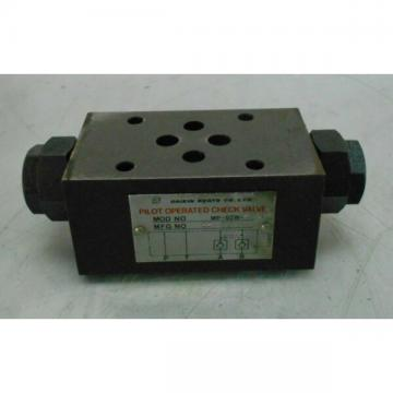 Daikin pilot operated check valve, mod # mp-02w-21-034, used, warranty