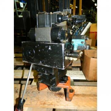 Daikin Hydraulic Pump Motor Unit, # SDM 174-2V2-2-20-069, W/ Valves, Used