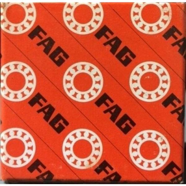 FAG 7309BUO ANGULAR CONTACT BALL BEARING #1 image
