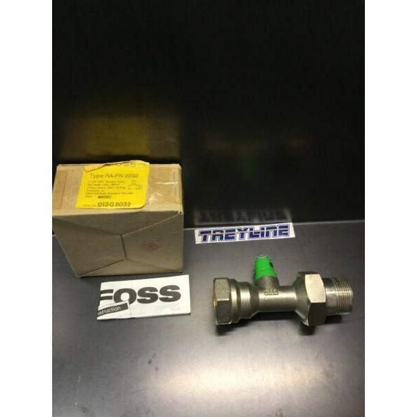 """NEW, DANFOSS, 013G8032, 1 1/4"""" STRAIGHT VALVE, RA-FN, 2232. (23D-1) #1 image"""